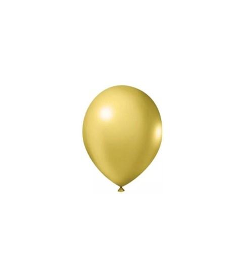 Balão Metal Ouro 50 Unidades