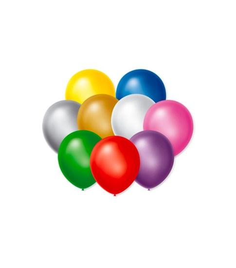 Balão Número 07 50 Unidades