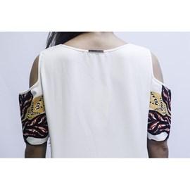 Blusa Estampada Morena Rosa