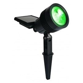 Espeto Spot Solar 20 Lumens Verde Ecoforce