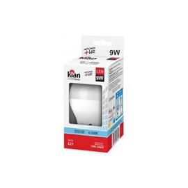 Lâmpada LED Bulbo Kian 9W Branca 6500k Bivolt