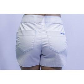 Shorts Morena Rosa Jeans Boxer Bordado
