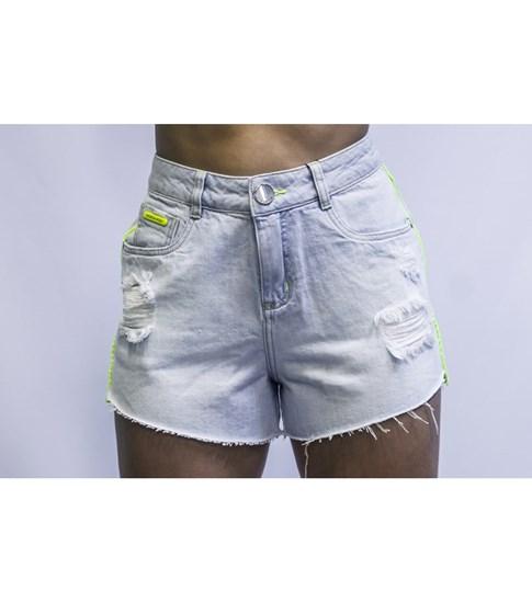 Shorts Morena Rosa Jeans Five Pocket
