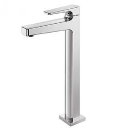 Torneira para lavatório de mesa bica alta lift chrome docol